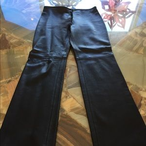 Pants - Genuine leather pants Sz 6